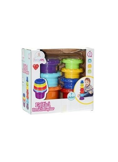 Birlik Oyuncak Urt-07-5751 Babycim Eğitici Renkli Kaplar Renkli